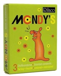 """Kondomy - RILACO Mondy""""s (3ks)"""