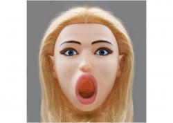 Topco Cyberskin Vibrating Love doll Kayden Deep throat - realistická nafukovací panna