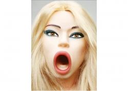 Topco Cyberskin Vibrating Love doll Bree Olson - realistická nafukovací panna