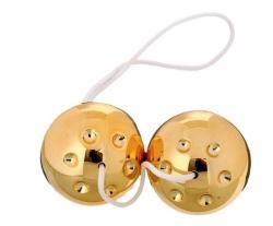 Liebeskugeln Gold - Venušiny kuličky plastové