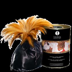 Shunga - jedlý tělový pudr s malinovou příchutí
