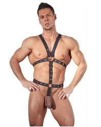 Bad Kitty Men's Strap Body M/L