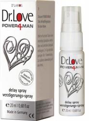 Dr. Love Power4man 20ml - sprej oddalující ejakulaci