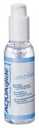 Lubrikační gel AQUAglide SENSITIVE s dávkovací pumpičkou 125ml