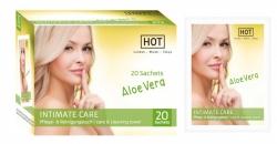 HOT INTIMATE CARE Soft cleaning towel 20ks - pečující a čistící ubrousky pro intimní hygienu