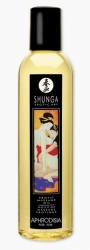 SHUNGA Aphrodisia - masážní olej s vůní po růžích 250ml