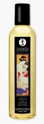 SHUNGA Euphoria - masážní olej s opojnou vůní tropických květů 250ml