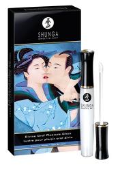SHUNGA Divine Oral Pleasure 10ml - stimulační sérum na na rty s kokosem