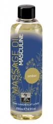 SHIATSU Masculine Amber - afrodiziakální masážní olej 250ml