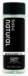 HOT natural basic - masážní olej bez parfemace 100ml