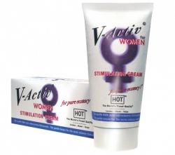 HOT V-Activ stimulační krém pro ženy 50ml