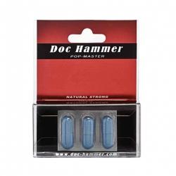 Doc Hammer - kapsle pro maximalizaci sexuálního výkonu 3ks