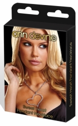 ANN DEVINE náhrdelník SRDCE