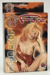 Nafukovací panna - Fire Love Doll