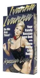Nafukovací panna Ivanna, ruská milenka
