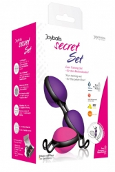 Joydivision JOYballs secret set - Venušiny kuličky v sadě