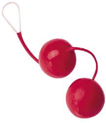 Venušiny kuličky červené z latexu