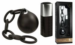ROCKS OFF Ball & Chain - Luxusní vibrační vajíčko na dálkové ovládání