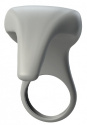 BeauMents Joyride - Erekční kroužek se stimulátorem klitorisu