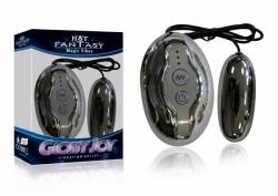 HOT Fantasy Glossy Joy silver - vibrační vajíčko