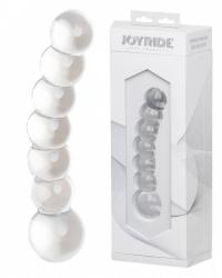 """JOYRIDE Premium GlassiX 11 - skleněné anální dildo """"červík"""""""