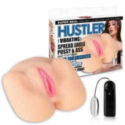 Hustler Spread Eagle - torzo vagíny s análem