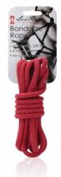 Lux Fetish - bondage lano červené 3m