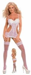 COLLECTION X GERVAISE podvazkové spodní prádlo bílé (více velikostí) Velikost: S
