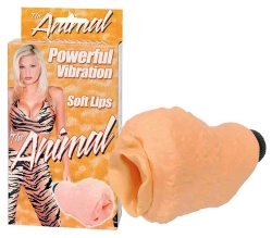 Vibrační vagína animal - Vaše zvířecí rozkoš!