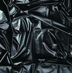 Joydivision PVC prostěradlo černé 180x220