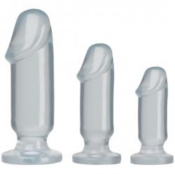Doc Johnson Anal Starter Kit - sada análních kolíků ve tvaru penisu