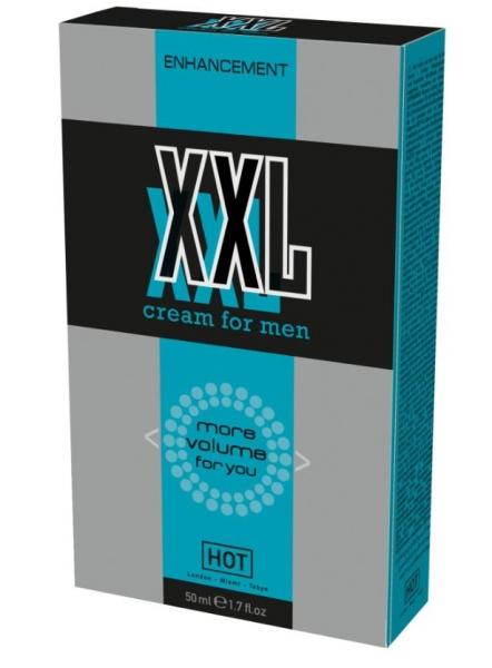 HOT XXL Volume cream for Men 50ml - erekční a vitalizující krém