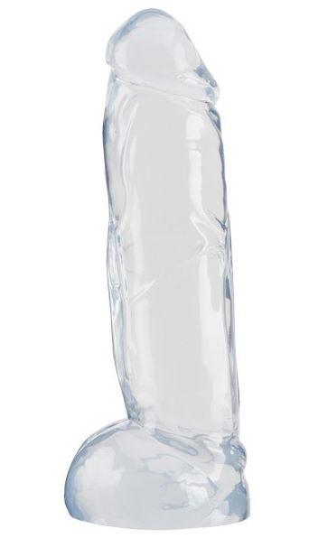 Crystal Clear Big dong - Čiré dildo větších rozměrů