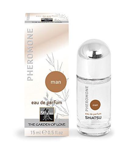 SHIATSU - parfém s feromony pro muže 15ml