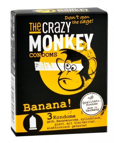 THE CRAZY MONKEY Condoms Banana ks 3