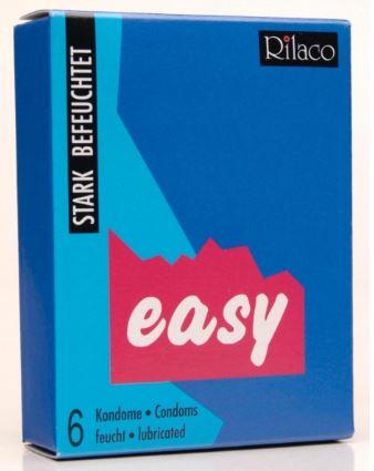 RILACO Easy - extra lubrikované kondomy 6ks