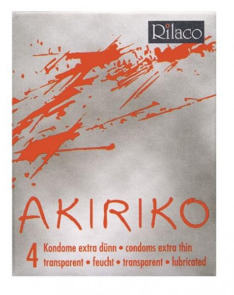 RILACO Akiriko - kondomy s tenkou stěnou 4ks