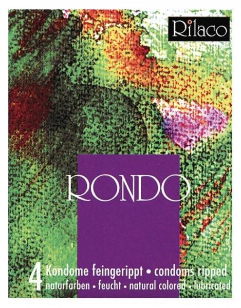 RILACO Rondo - žebrované kondomy 4ks