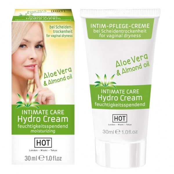 HOT INTIMATE CARE Hydro Cream - Hydratační krém řešící vaginální suchost obsah: 30ml