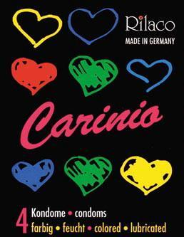 Kondomy RILACO Carinio (4ks)